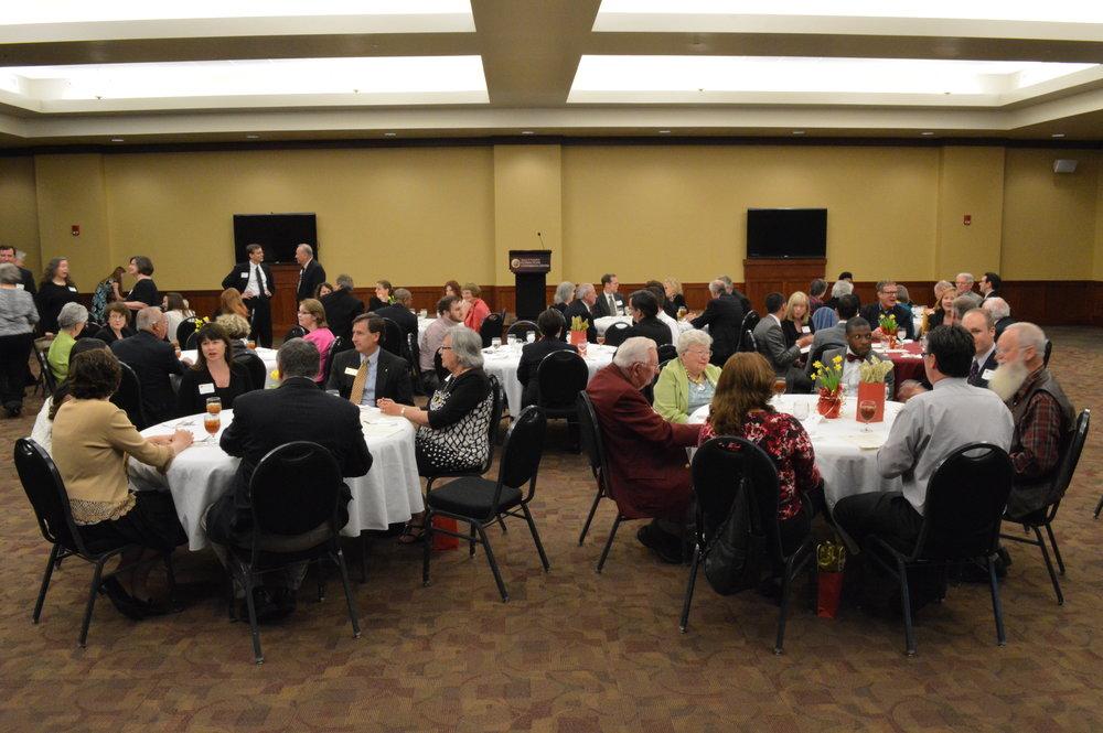 dinner debate reunion group.jpg