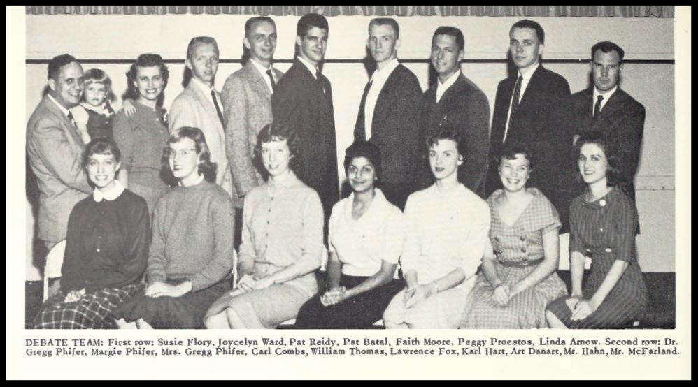 1959 - 1960 Florida State Debate Team