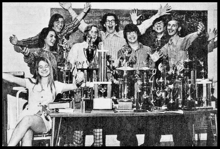 1971 - 1972 Florida State Debate Team
