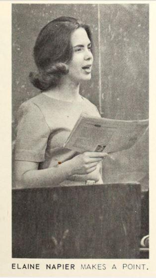 Sophomore Elaine Napier