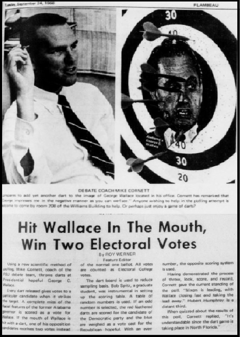 """Hit Wallace In The Mouth, Win Two Electoral Votes"""