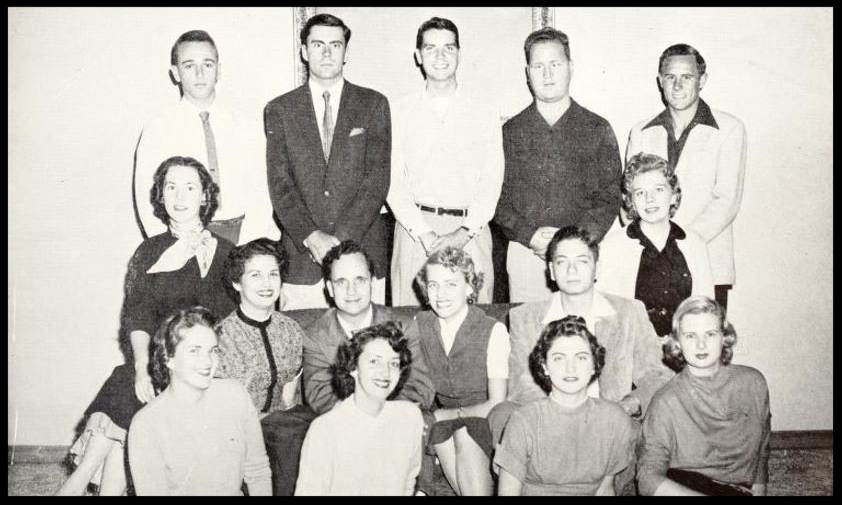 1955 - 1956 - Florida State Debate Team