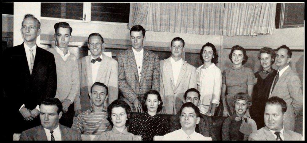 1956 - 1957 - Florida State Debate Team