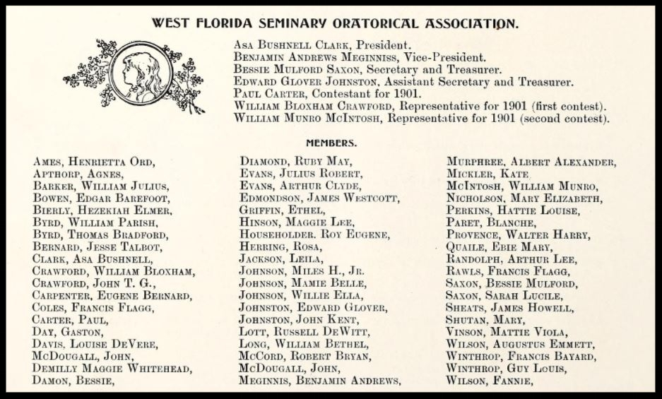 West Florida Seminary Oratorical Association