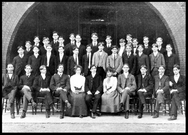 Platonic Debating Society 1902 - 1903