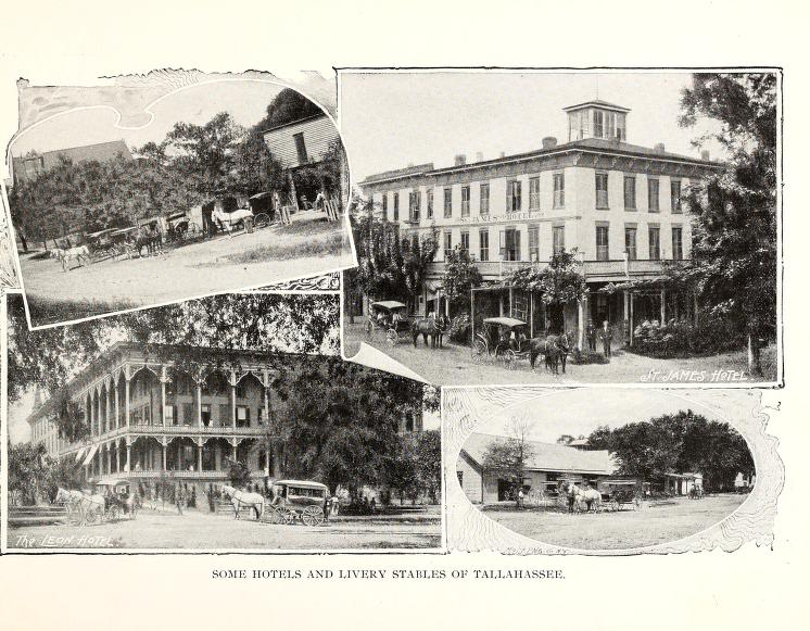 SOME HOTELS AND LIVERY STABLES OF TALLAHASSEE
