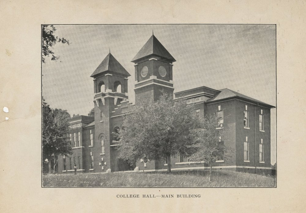COLLEGE HALL -- MAIN BUILDING