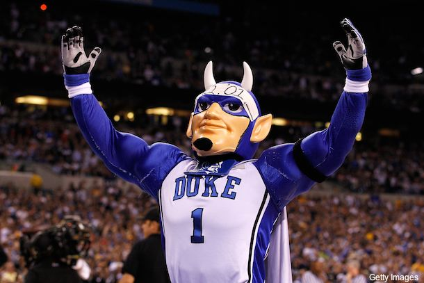 Pride & Strength of Duke University  - Well known and adorded by many, The Blue Devil is a wonderful representation of Duke and it's succesful athletic programs.