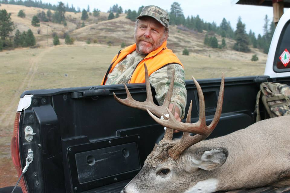 Washington State- Whitetail, 2014   410 yards, Savage LRH 7mm Rem Mag