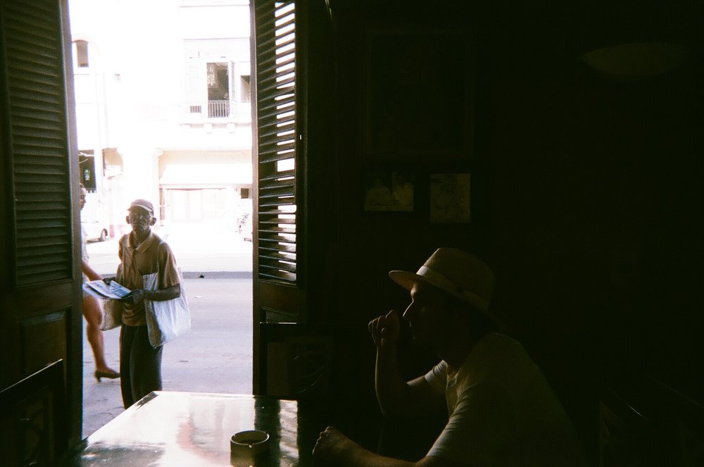 Dos Hermanos, taken on a disposable camera.