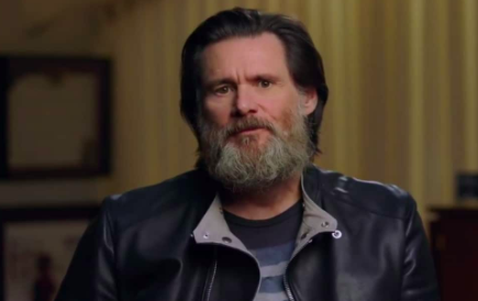 Jim Carrey in Jim and Andy.
