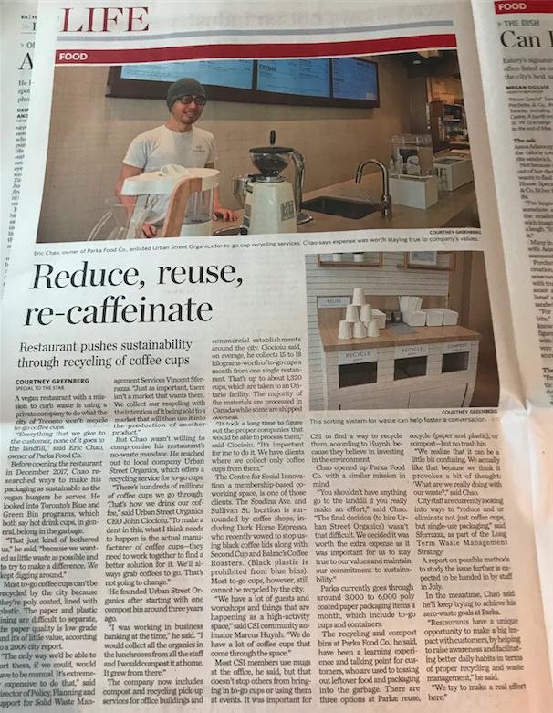 Toronto Star —May 16, 2018
