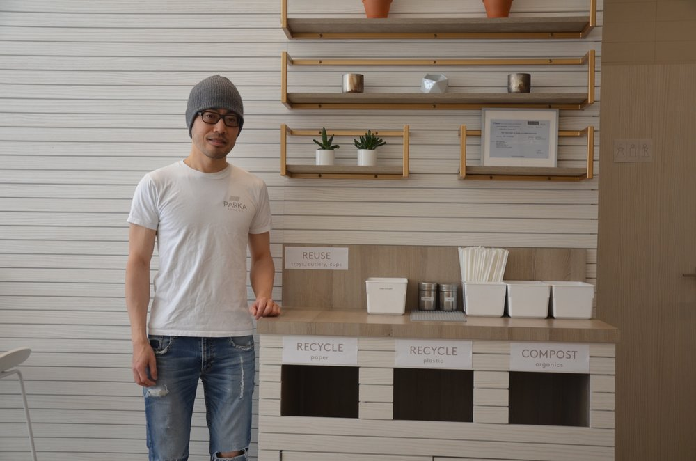 Toronto restaurant takes coffee cup recycling into its own hands - A vegan restaurant with a mission to curb waste is using a private company to do what the city of Toronto won't: recycle to-go coffee cups.
