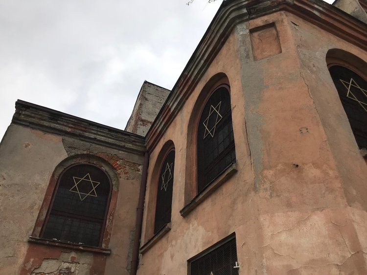 Reicher Synagogue from the outside