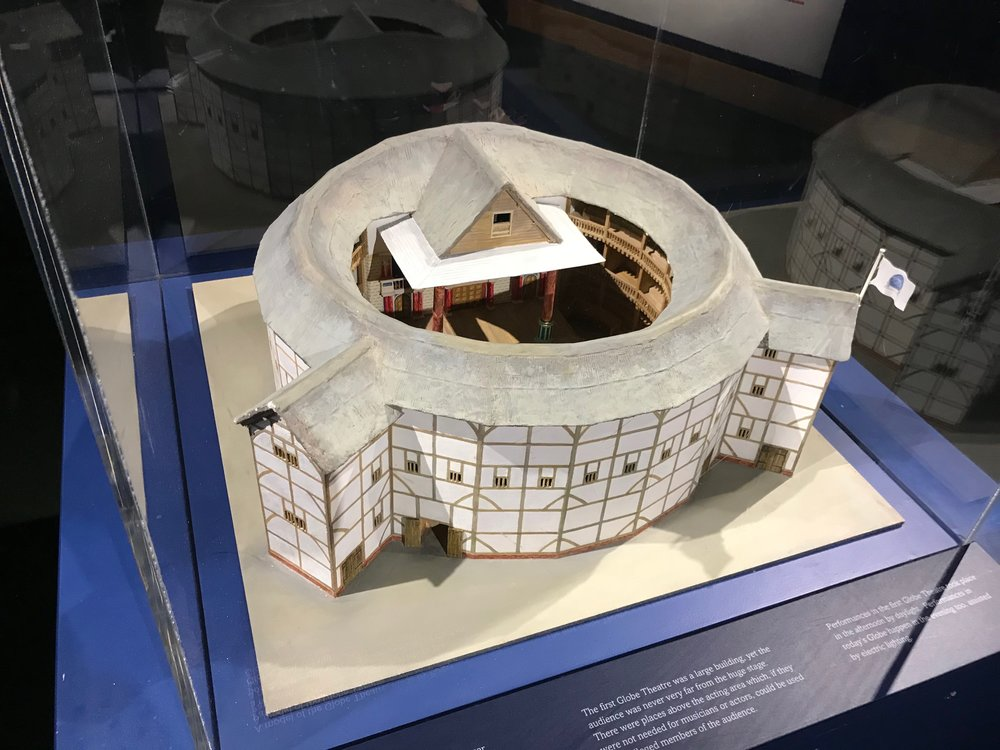 A model of the Globe Theatre