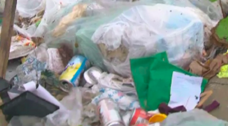 Markham residents upset after piles of garbage illegally dumped near plaza - Debris has been piling up for months beside a Markham plaza -- and residents say they're frustrated that no one is cleaning up the garbage that has been illegally dumped.