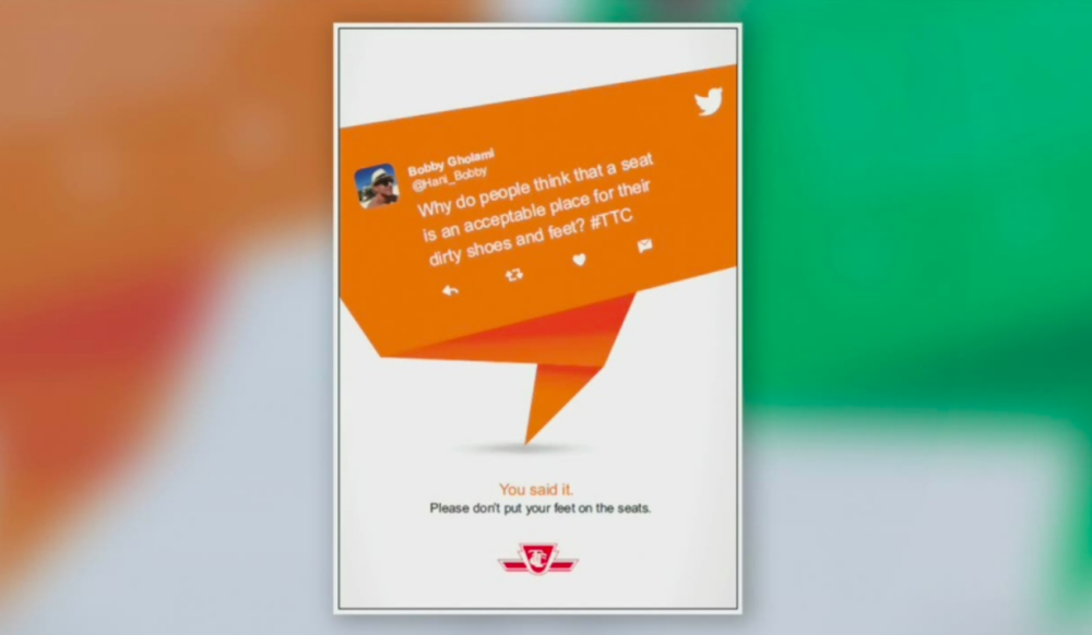 New TTC campaign highlights feedback from commuters - The Toronto Transit Commission is taking complaints from riders and using them to transform rider's experience.