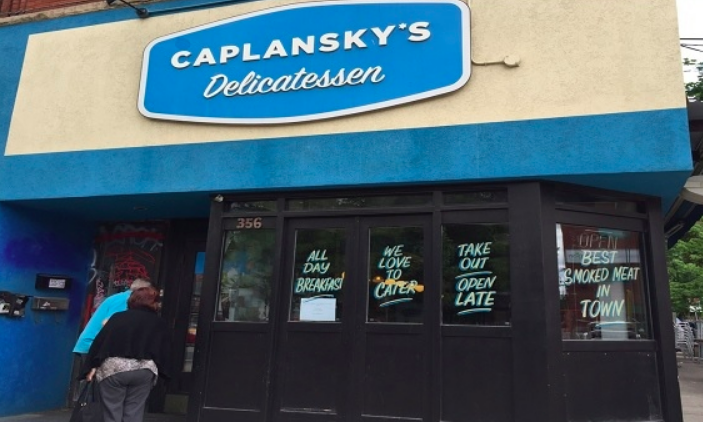 "Caplansky's closed; Owner says his lease was terminated without notice - The owner of popular Toronto restaurant, Caplansky's Deli, said he was ""absolutely heartbroken"" after his landlord terminated his College Street property's lease Monday night."