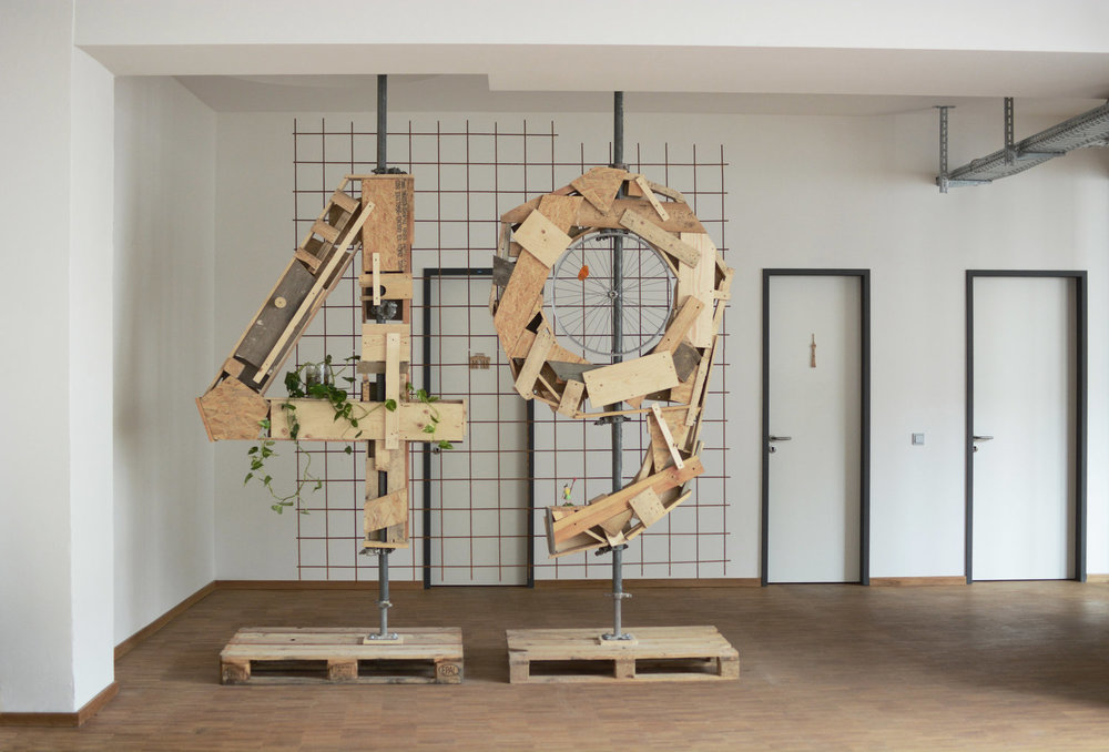 Studio49 Lobby Signage -