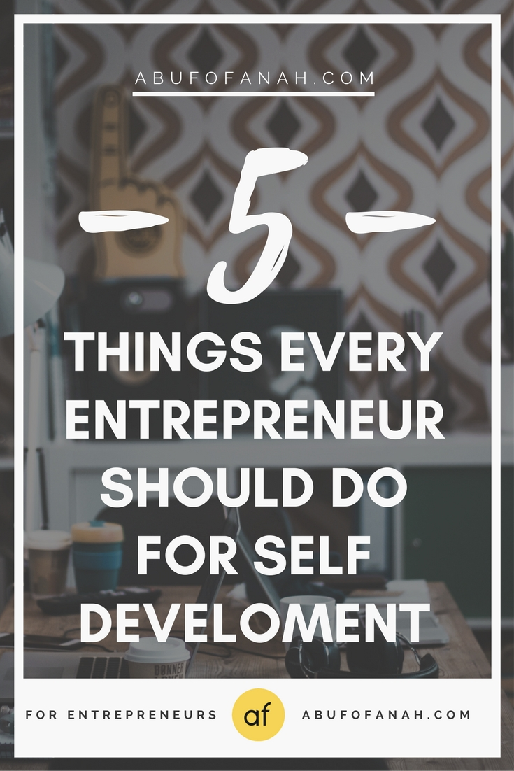 personal development, 5 traits