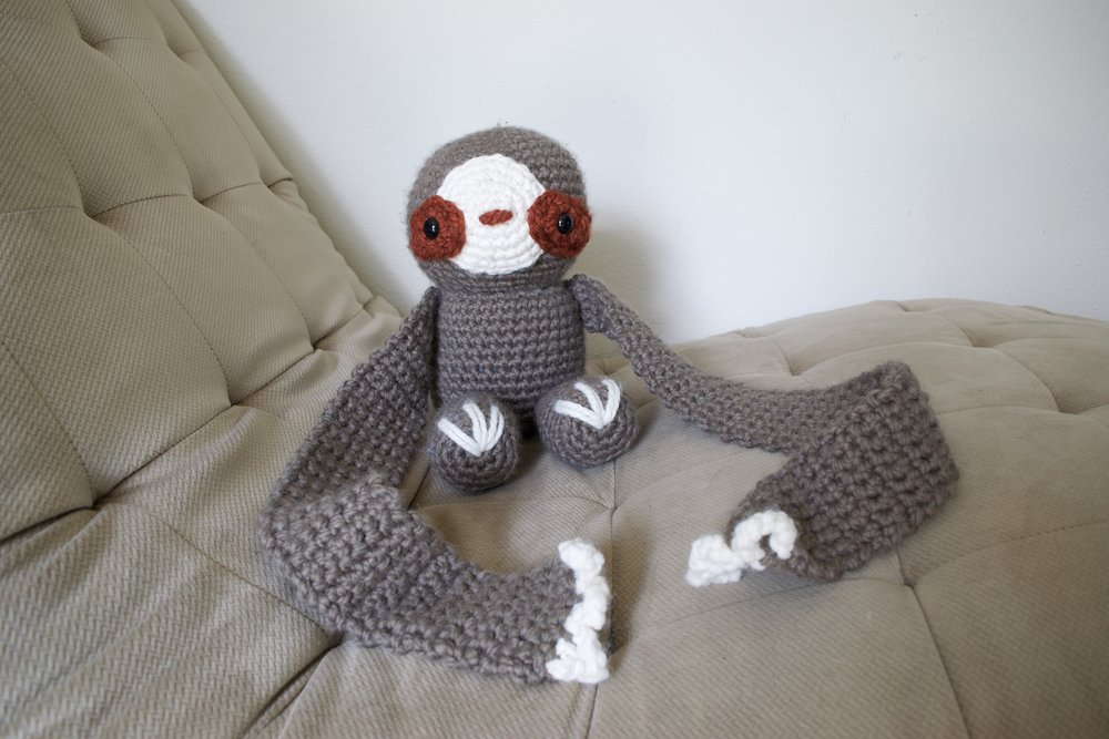Bond the Scarfie Sloth! -