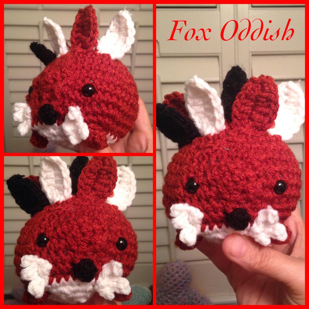 Fox Oddish made by @Rilla2u