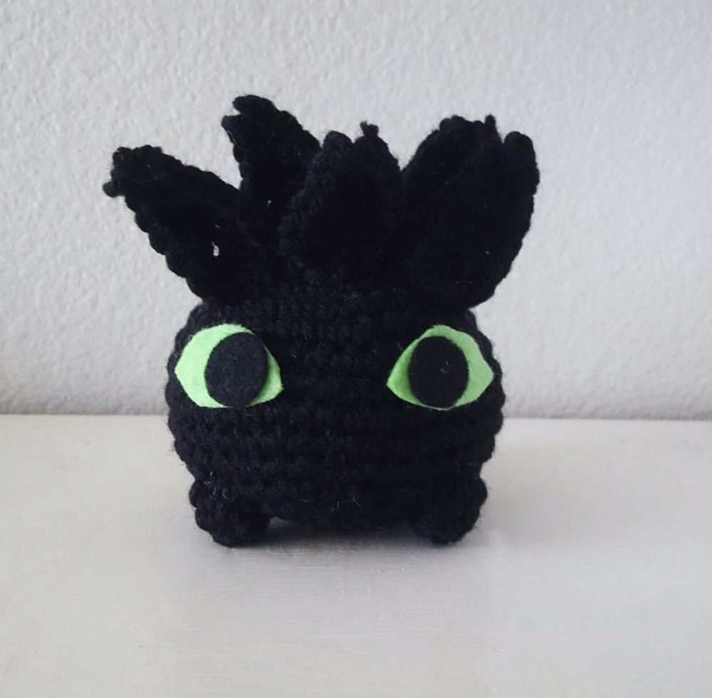 Toothless Oddish (Toothlish) made by @jsthreads14