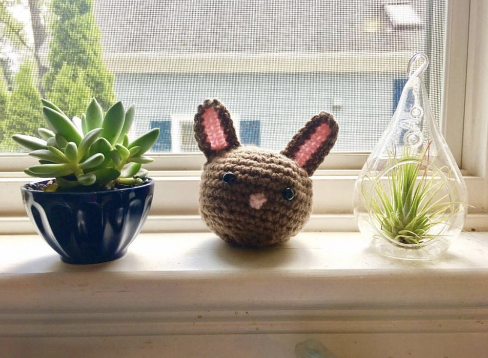 Bunny Oddish made by @emmaoliver123