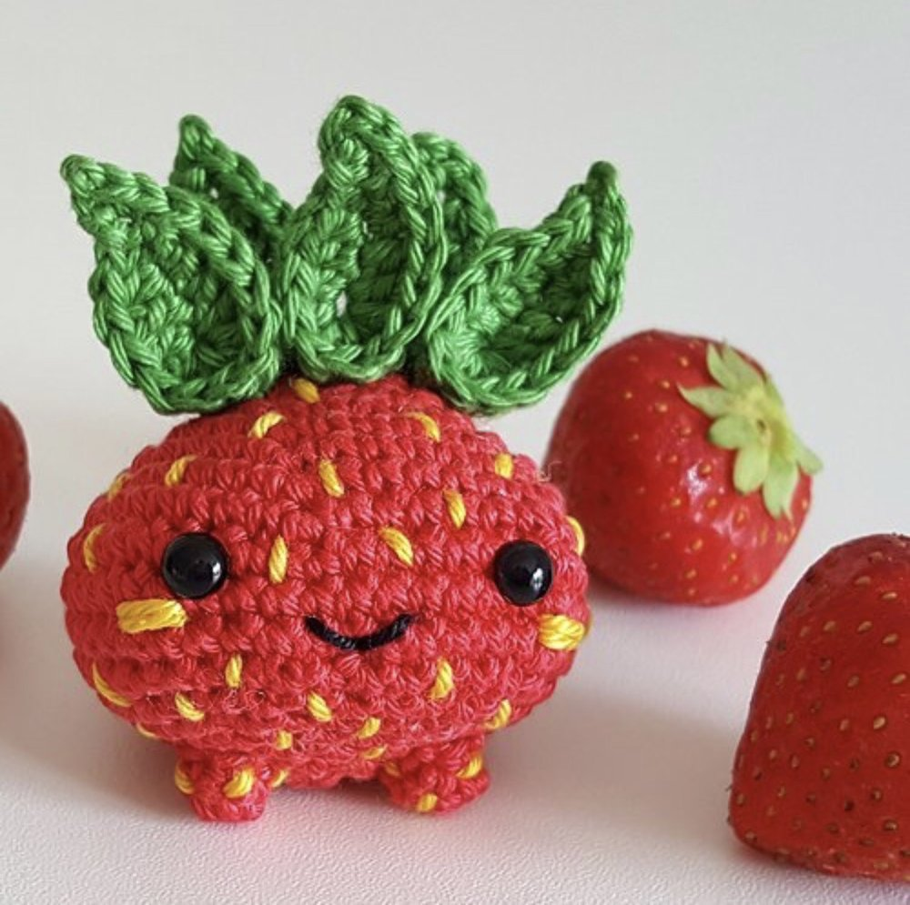 Strawberry Oddish made by @haekelheldin89