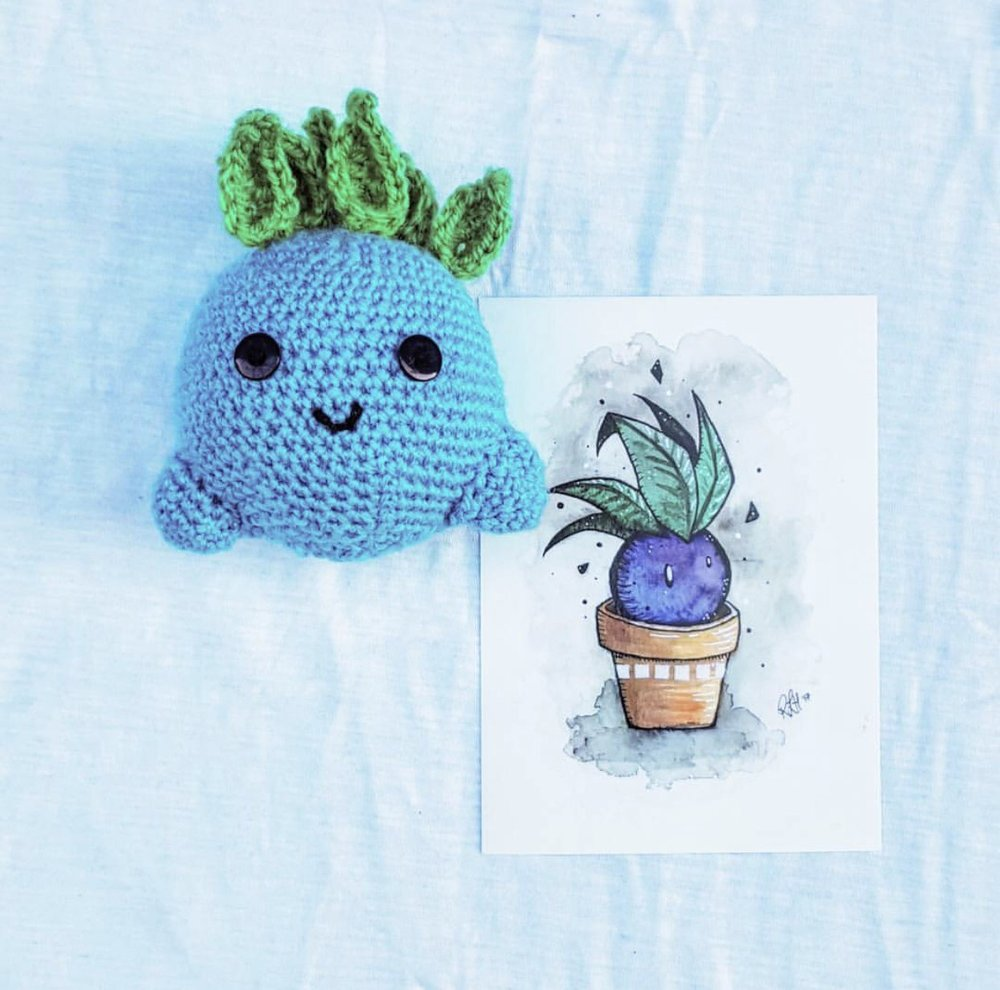 Oddish made by @