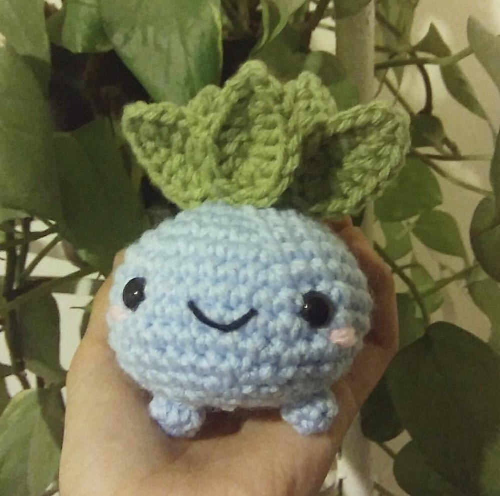 Oddish made from @itssmanzoo