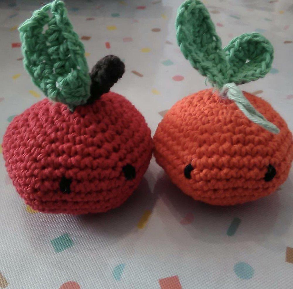 Apple Oddish made from @didydoe