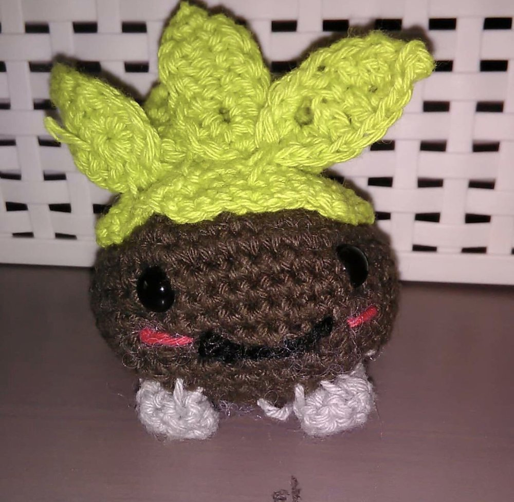 Chespin Oddish made from @didydoe
