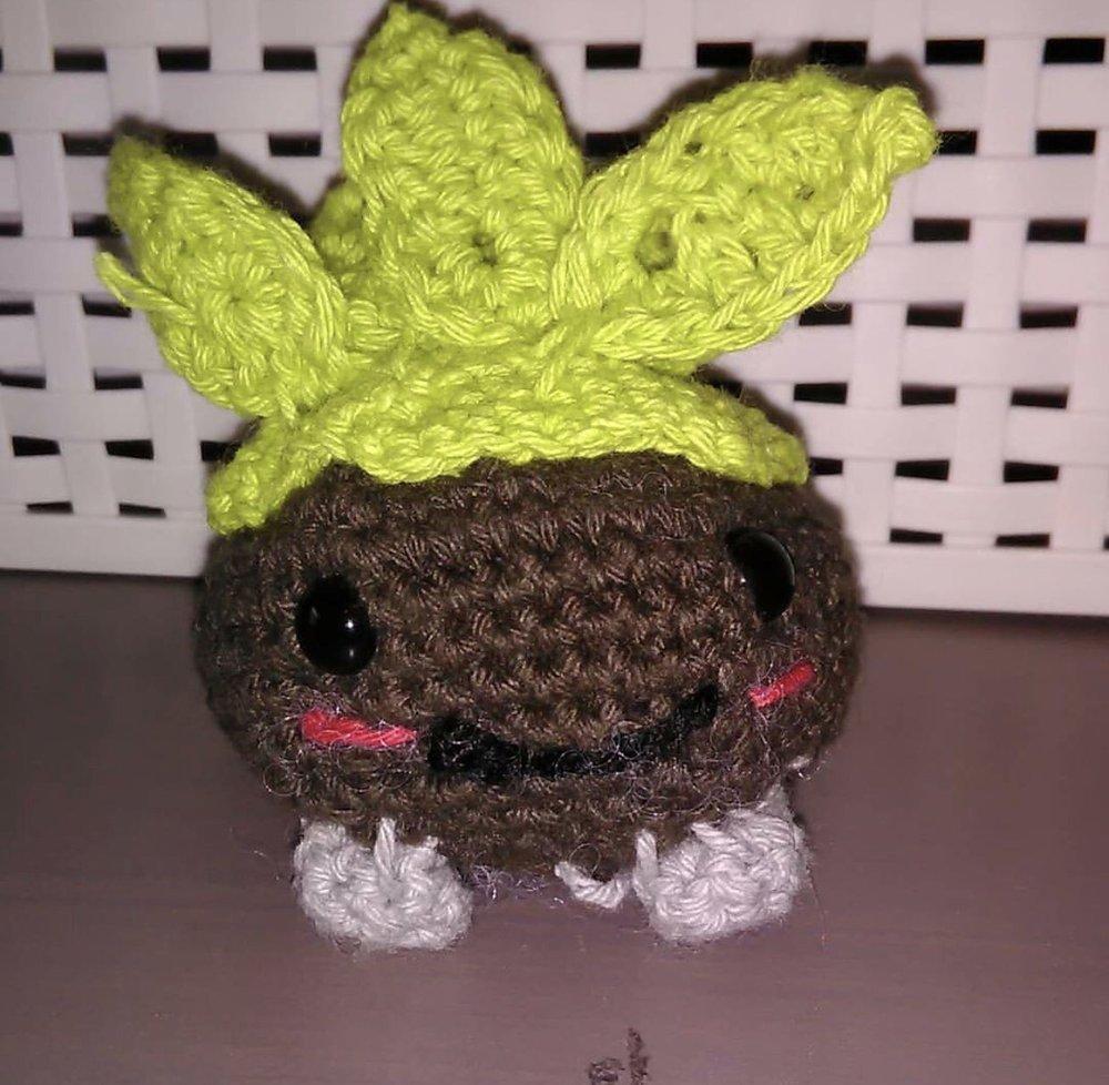 Chespin Oddish made from @didydoe