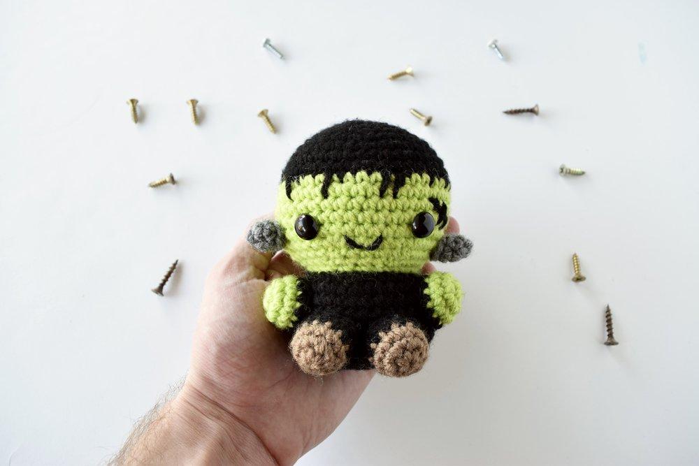 Frankenstein Amigurumi Pattern -