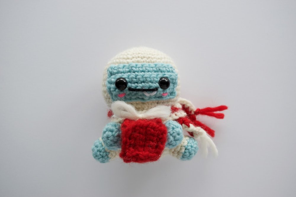 Claus the Yeti - Free crochet pattern (amigurumi)
