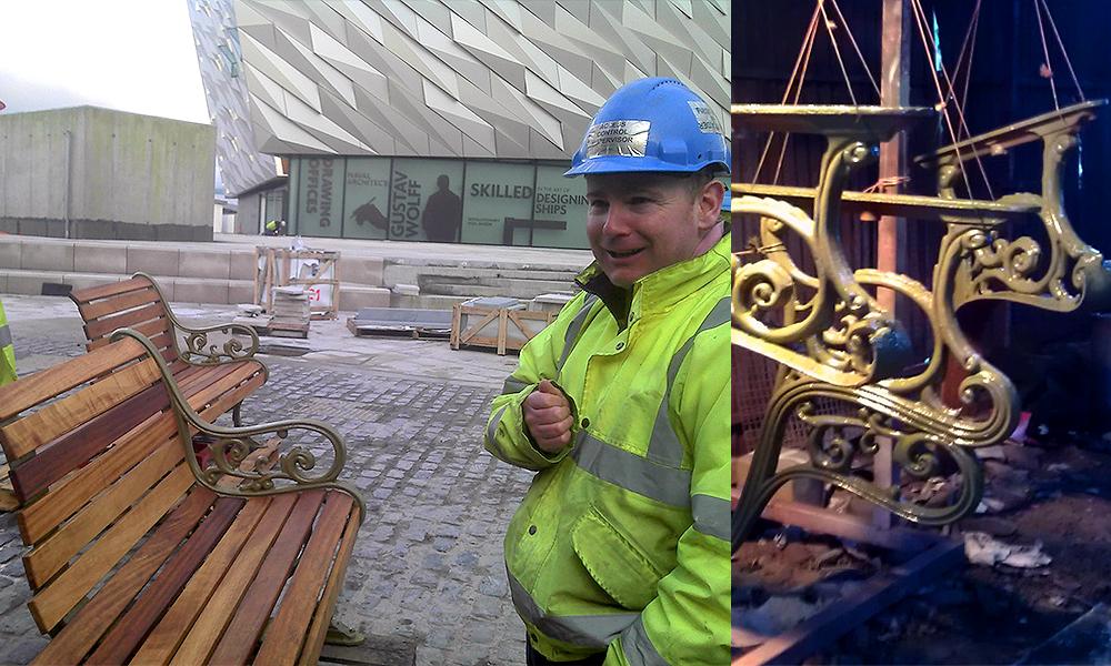 Titanic benches - Belfast