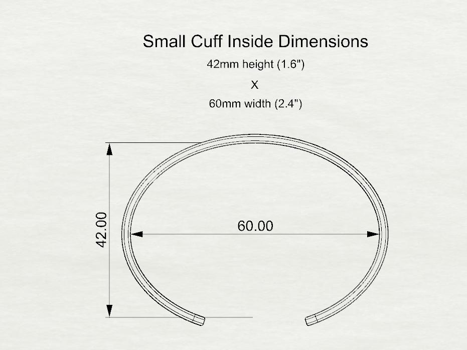 Small Cuff Dimension