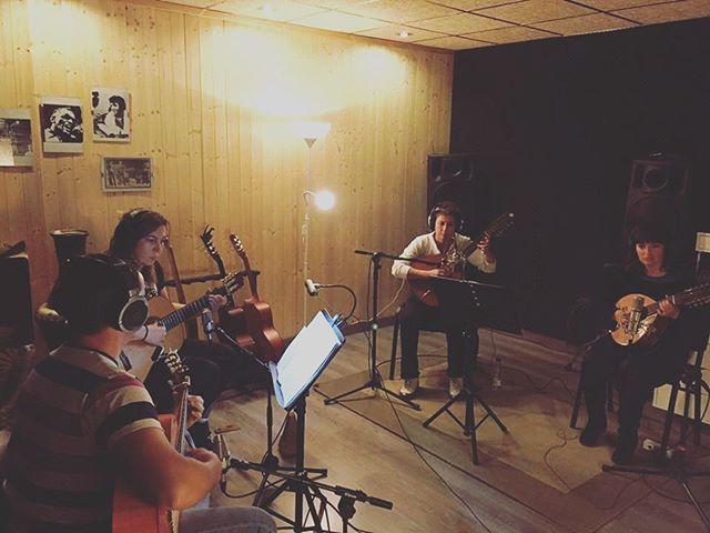 ¡Comenzando la grabación del próximo disco de Coros y Danzas de Puerto Lumbreras! 💃🏽