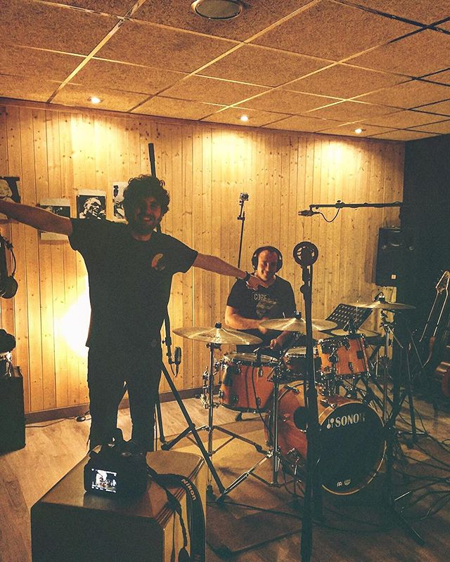 ¡Seguimos grabando baterías con @leben1925!  #drums #sonor #glynjohns #studiorecording www.albantaestudio.com