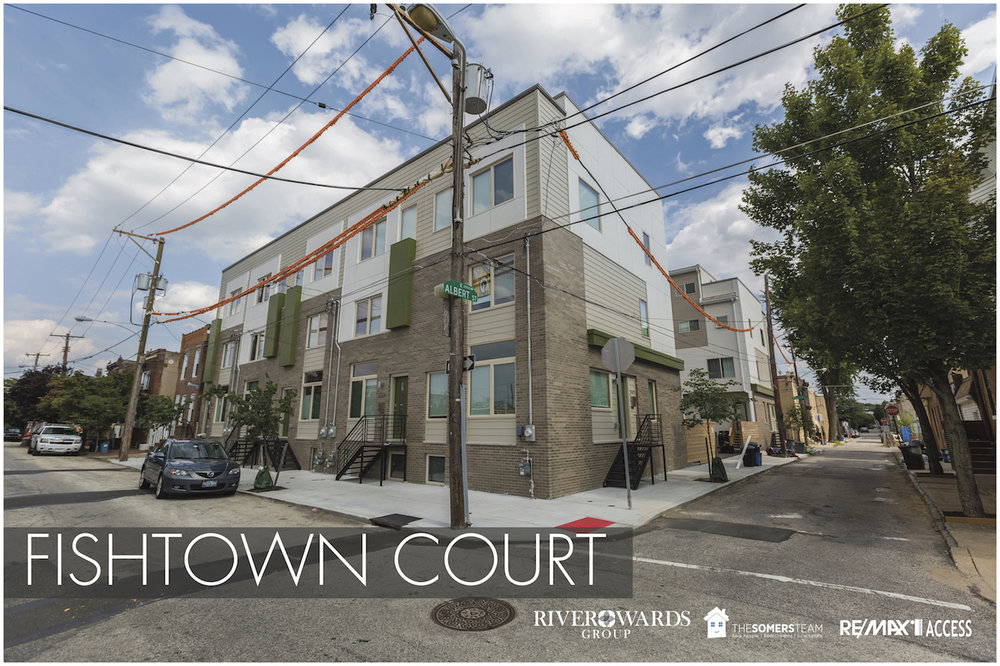 Fishtown19125 - This ten unit, exceptionally appointed luxury townhouse complex is situated so close to the hot spots of uber cool Fishtown, but is still a quiet enclave away from it all. These ten luxury new construction townhomes sold out in under six months!
