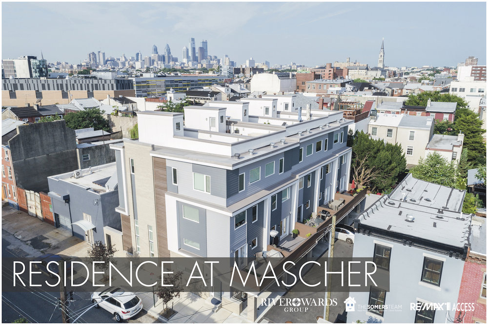 Northern Liberties 19123 - 5 Luxury New Construction Homes with Garages - SOLD OUT Fall 2015