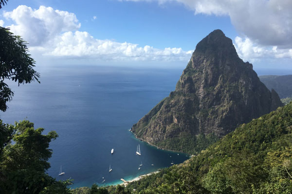 Hike Gros Piton - One of Saint Lucia's most popular attractions, the Gros Piton hike is a four-hour adventure that offers stunning views of exotic landscapes and local wildlife you can't find anywhere else.