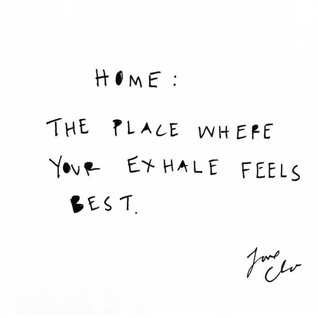 i've been having an ongoing conversation with myself about the concept of home. at the end of the day I can find it anywhere with the people who help me let out a deep sigh of relief after a long or exciting day. 💫 . thank you dear humans who are my coziest spots of all. 💖