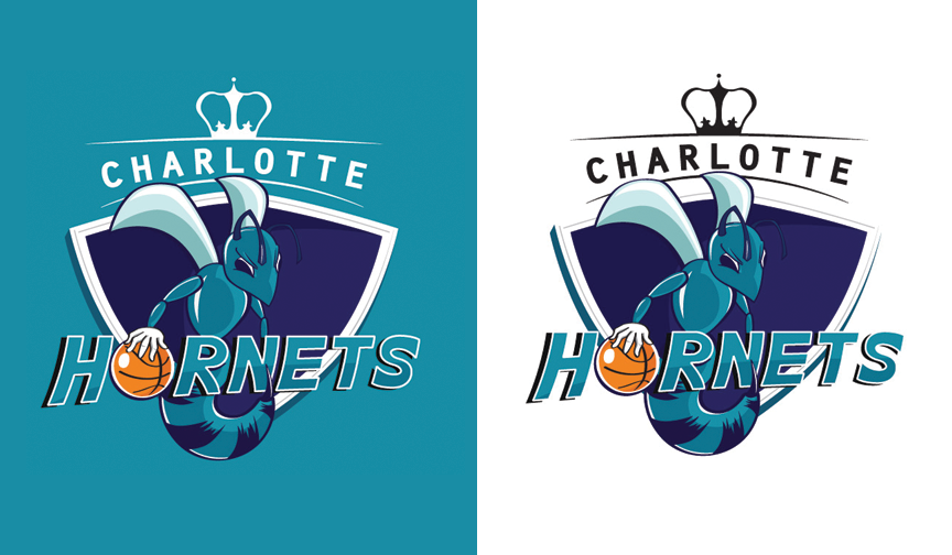 Charlotte Hornets Logo | Submission