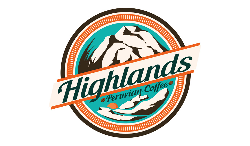 Highland Peruvian Coffee Logo