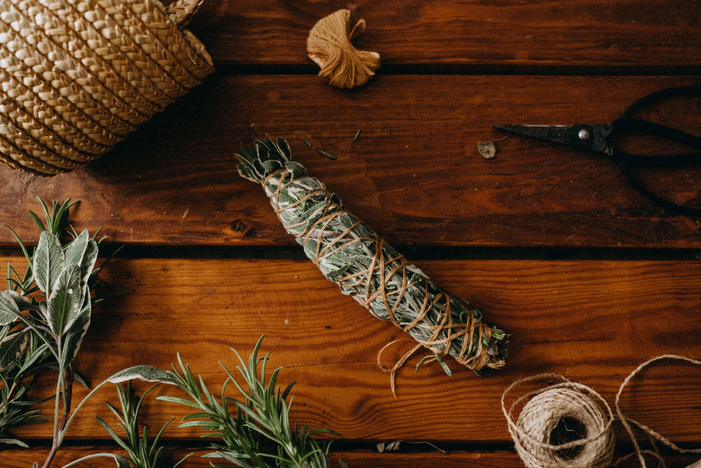 [DIY] How to make your own SMUDGE STICK, www.seasidewildflower.com
