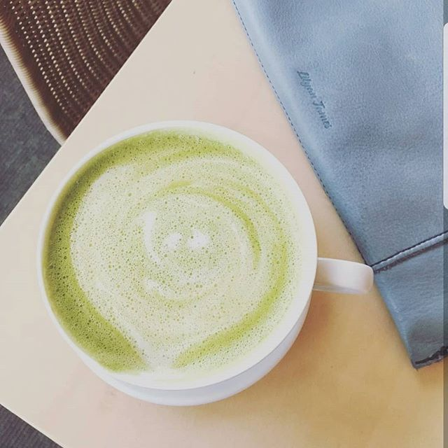 So matcha goodness in one cup 💚  #YesToAll #LuluNashville 💋 📸 @jdye__