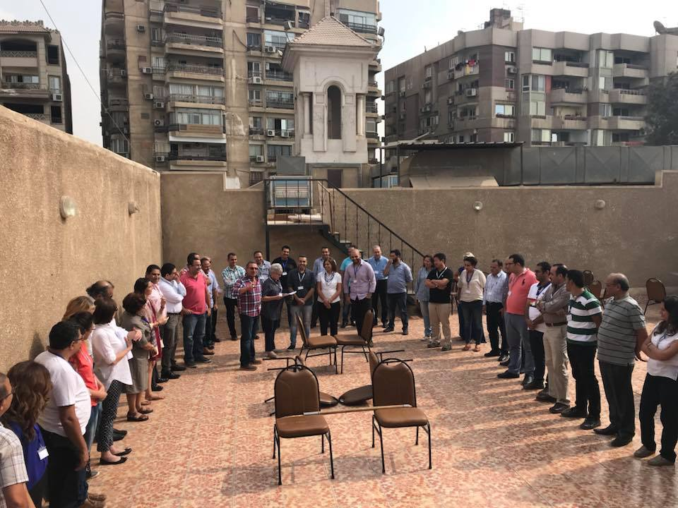 TOLI leaders from around the world met in Cairo for a week of training, collaboration and worship. Photo by Jessica Birkelo/Alternativ