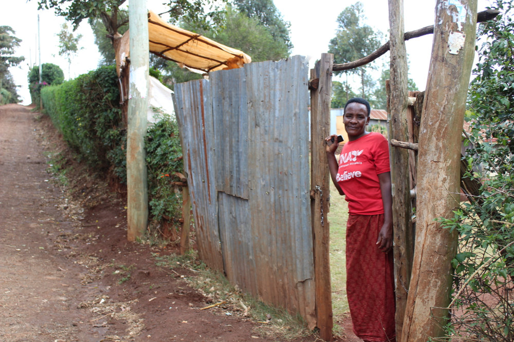 Margaret has applied for a microloan in Mai-a-ihii. She'd like to expand her small vegetable stand to a larger, permanent grocery kiosk.
